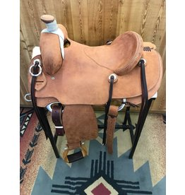 "Cactus Saddlery 15"" Cactus Rough Out Rancher"