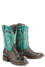Stetson Stetson Ladies' Brown Alligator Full Leather Boots