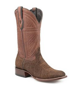 Stetson Stetson Men's Brown Oiled Hippopotamus Boots
