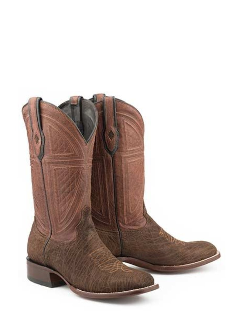 Stetson Stetson Men's Brown Oiled Hippopotamus Boots