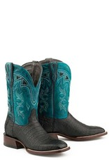 Stetson Stetson Ladies' Black Caiman Full Leather Boots