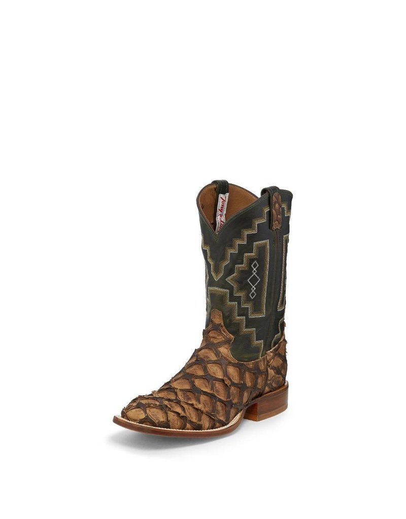 Tony Lama Men's Tony Lama Chocolate Gnarly Water Monster Boots