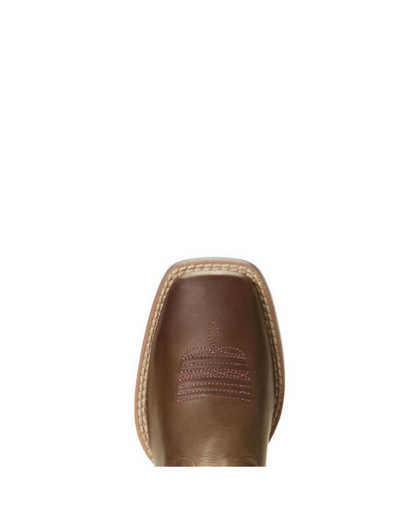 Ariat Ariat Kid's Distressed Brown Quickdraw VentTEK Boots