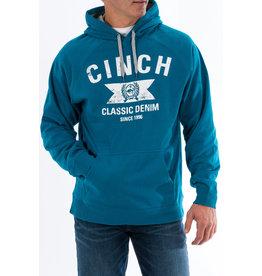 Cinch Men's Cinch Classic Denim Blue Hoodie