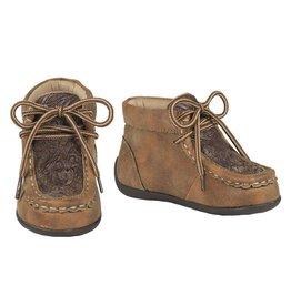 Double Barrel Jed Vintage Cowboy Floral Toddler Shoes