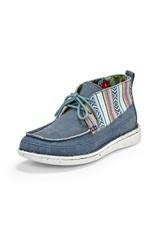 Justin Brands Breezy Denim Canvas Boat Shoes