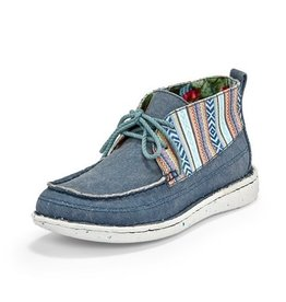 Justin Brands Breezy Denim Canvas Boat Shoes