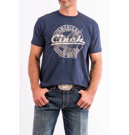 Cinch Cinch Navy Cotton-Poly Basic Tee