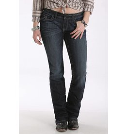 Cruel Denim Cruel Denim Abby Mid Rise Dark Rinse Slim Boot Cut Jean