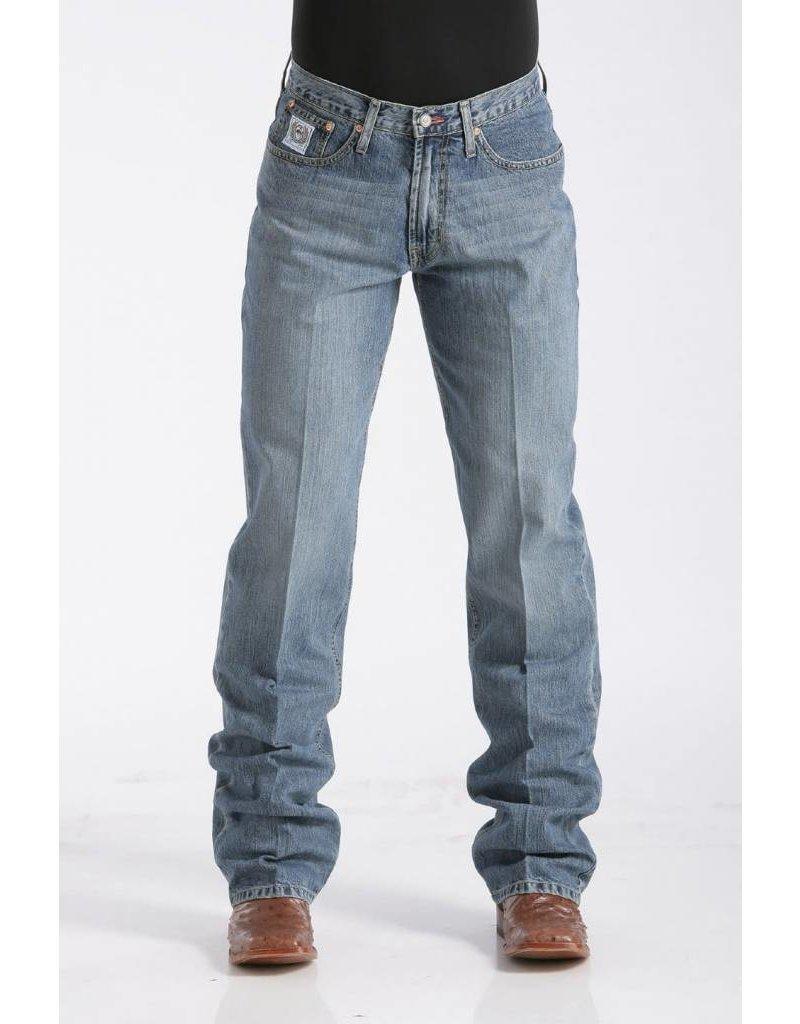 Cinch Cinch White Label Relaxed Fit Medium Stonewash Jean