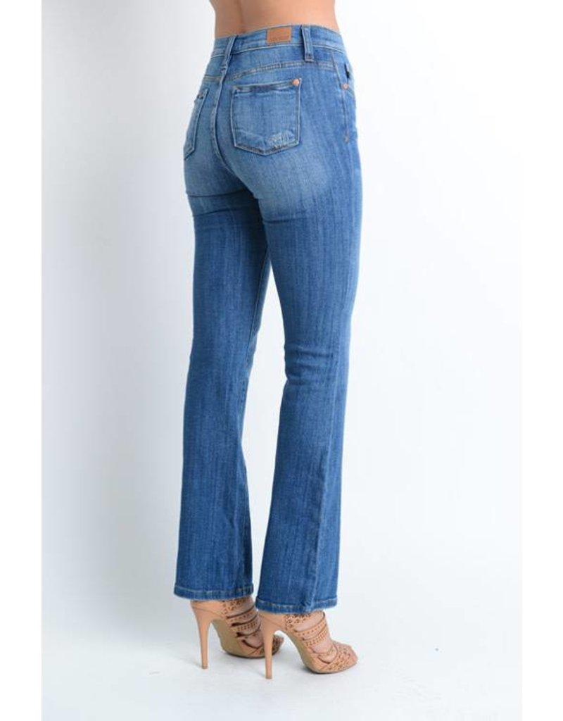 Judy Blue Judy Blue Mid Rise Boot Cut Jean