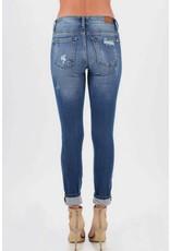 Judy Blue Judy Blue Soft Stretch Leopard Print Patch Jean