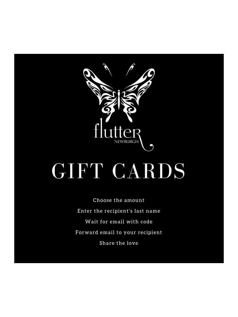 Flutter Gift Card - Flutter