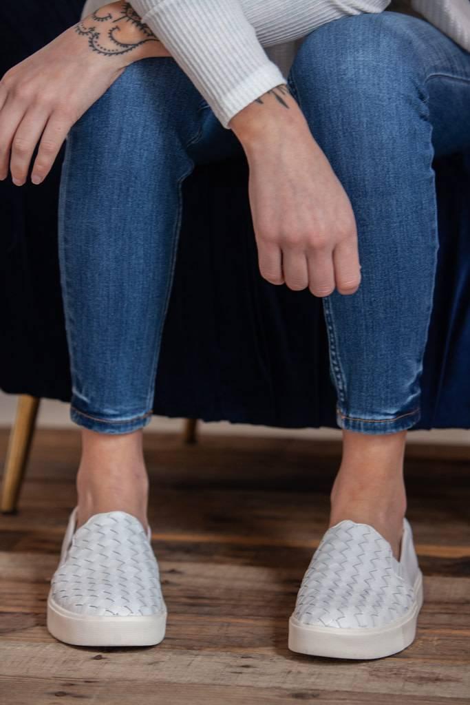 42e68ffe9 Sam Edelman - Eda Slip-On Sneaker - White Leather