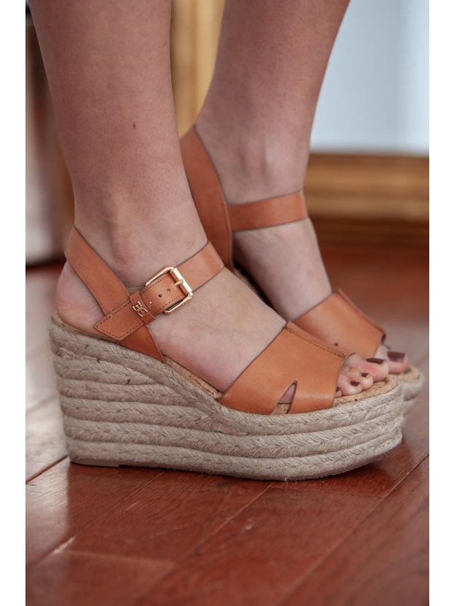 c7797d3e46a Sam Edelman - Maura Wedge Sandal - Saddle Leather