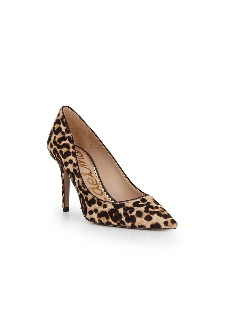 106b611c9c8c Sam Edelman - Margie Pointed Toe Pump - Nude Leopard