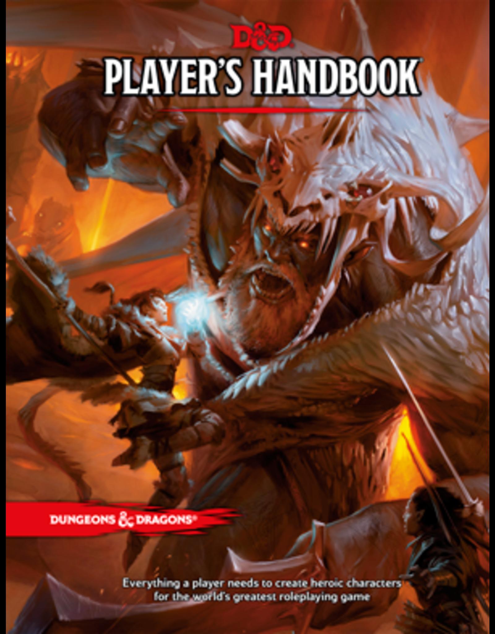 Dungeons & Dragons D&D 5th: Player's Handbook (HC)
