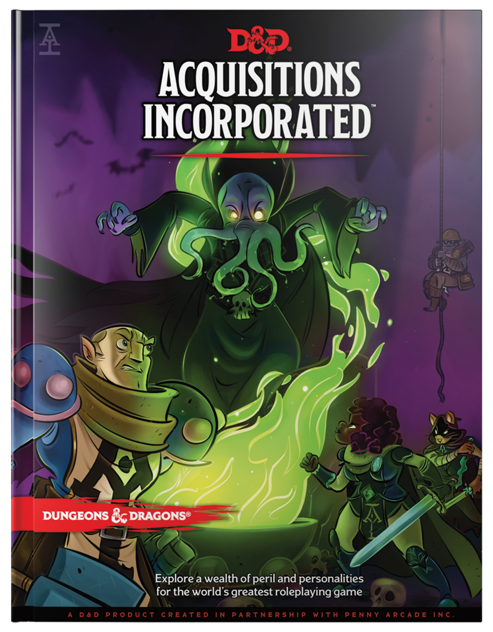 Wizards of the Coast D&D 5th Ed: Acquisitions Incorporated