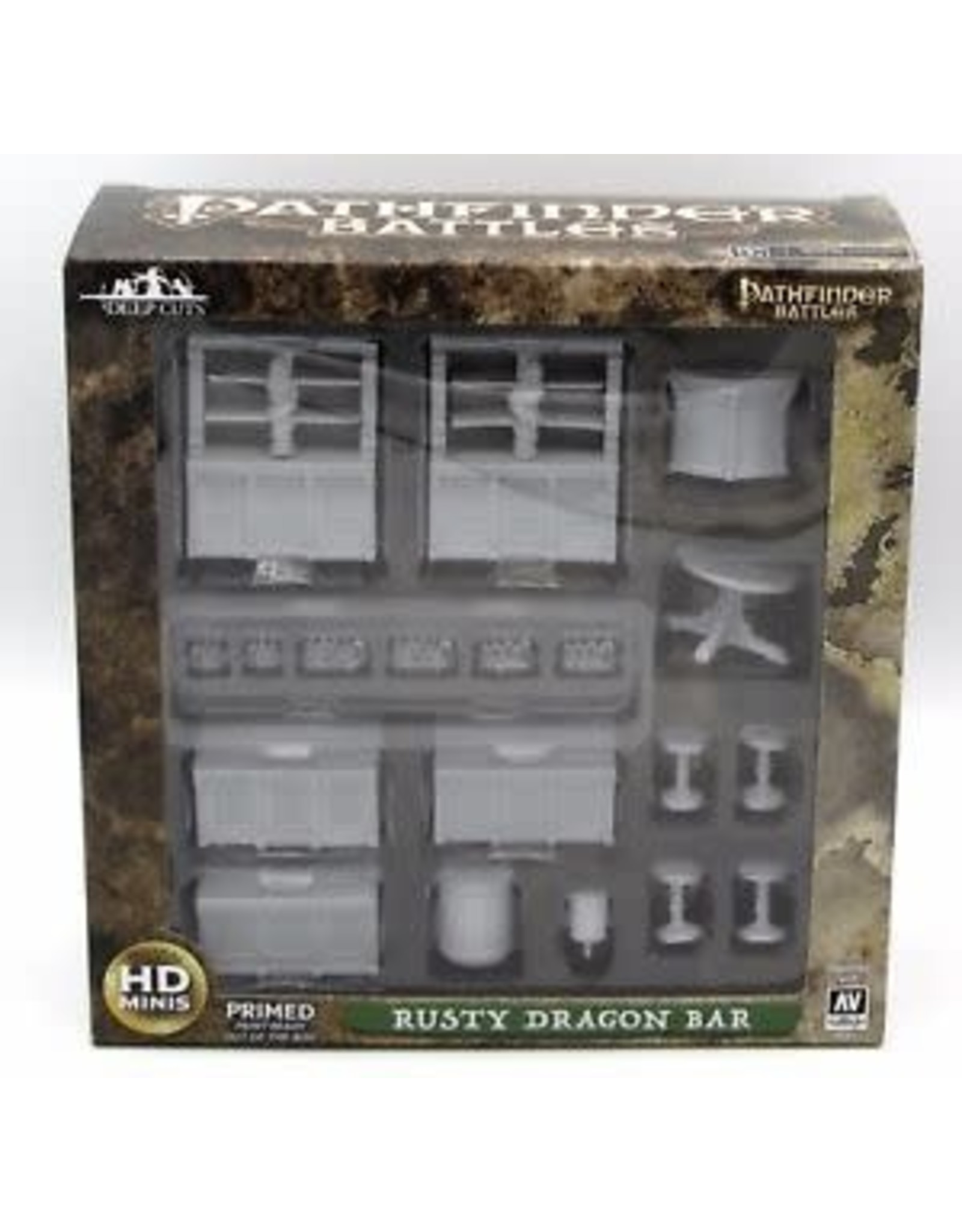 WizKids WZK: PF DC: Rusty Dragon Bar