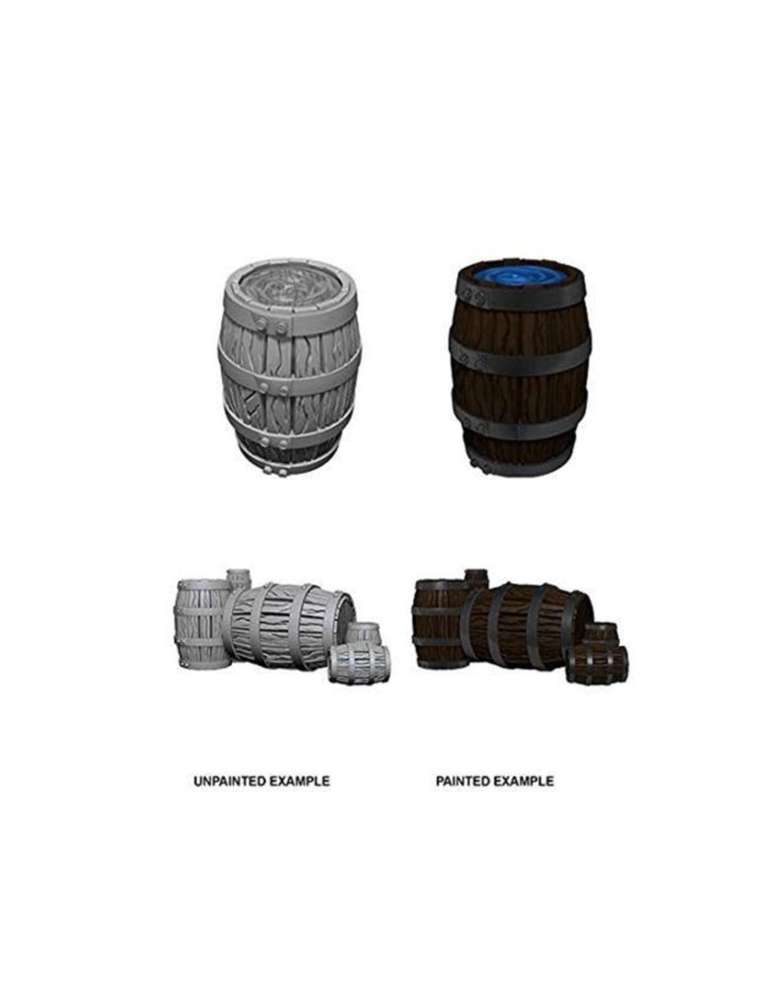 WizKids WZK: DC: W5: Barrel & Pile of Barrels
