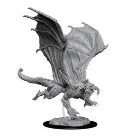 WizKids WZK: D&D NMU: Young Black Dragon