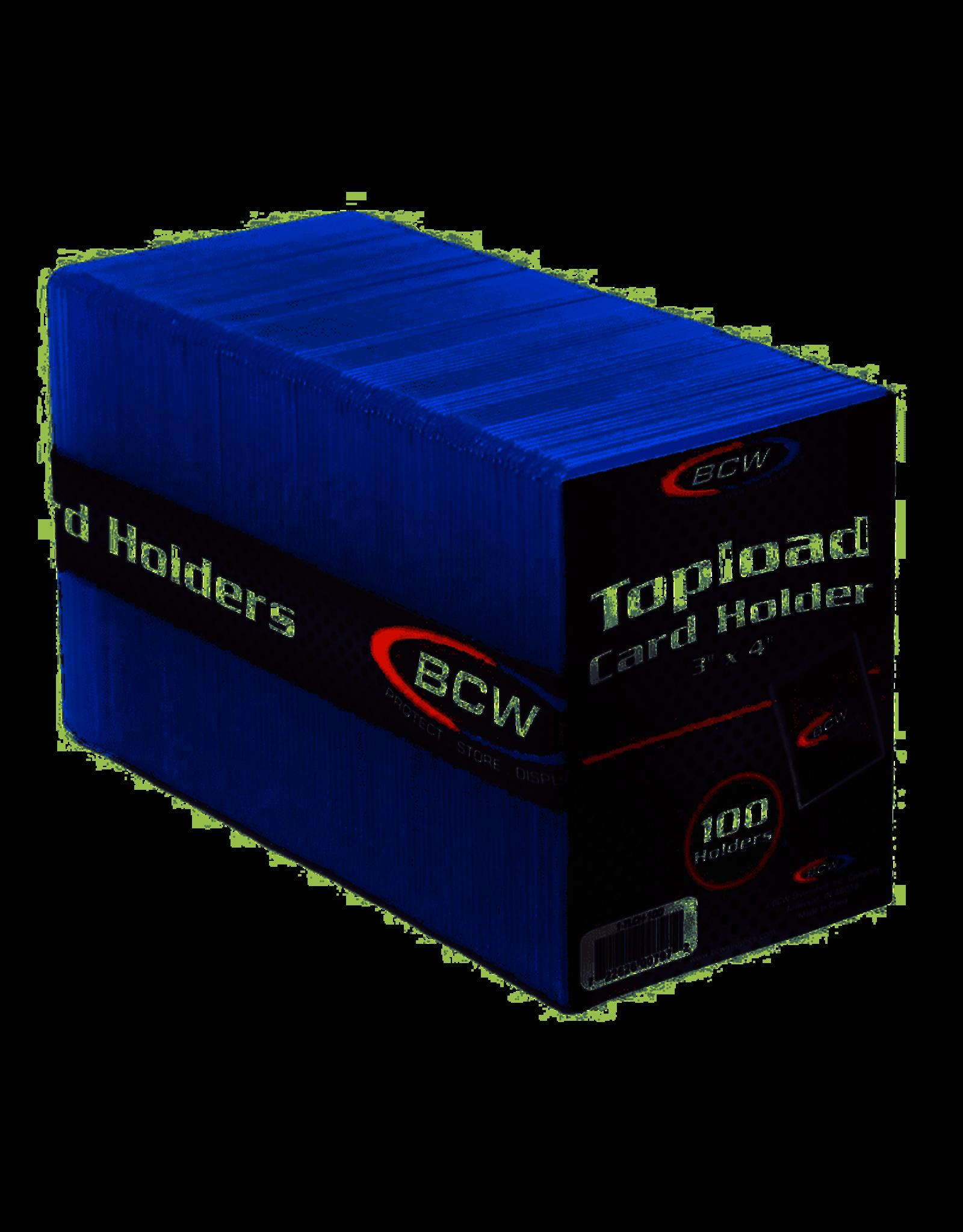 BCW: Topload Sleeve: 3x4 Standard (100)