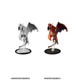 WizKids WZK D&D Minis: W11: Young Red Dragon