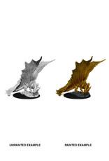 WizKids WZK D&D Minis: W11: Young Gold Dragon