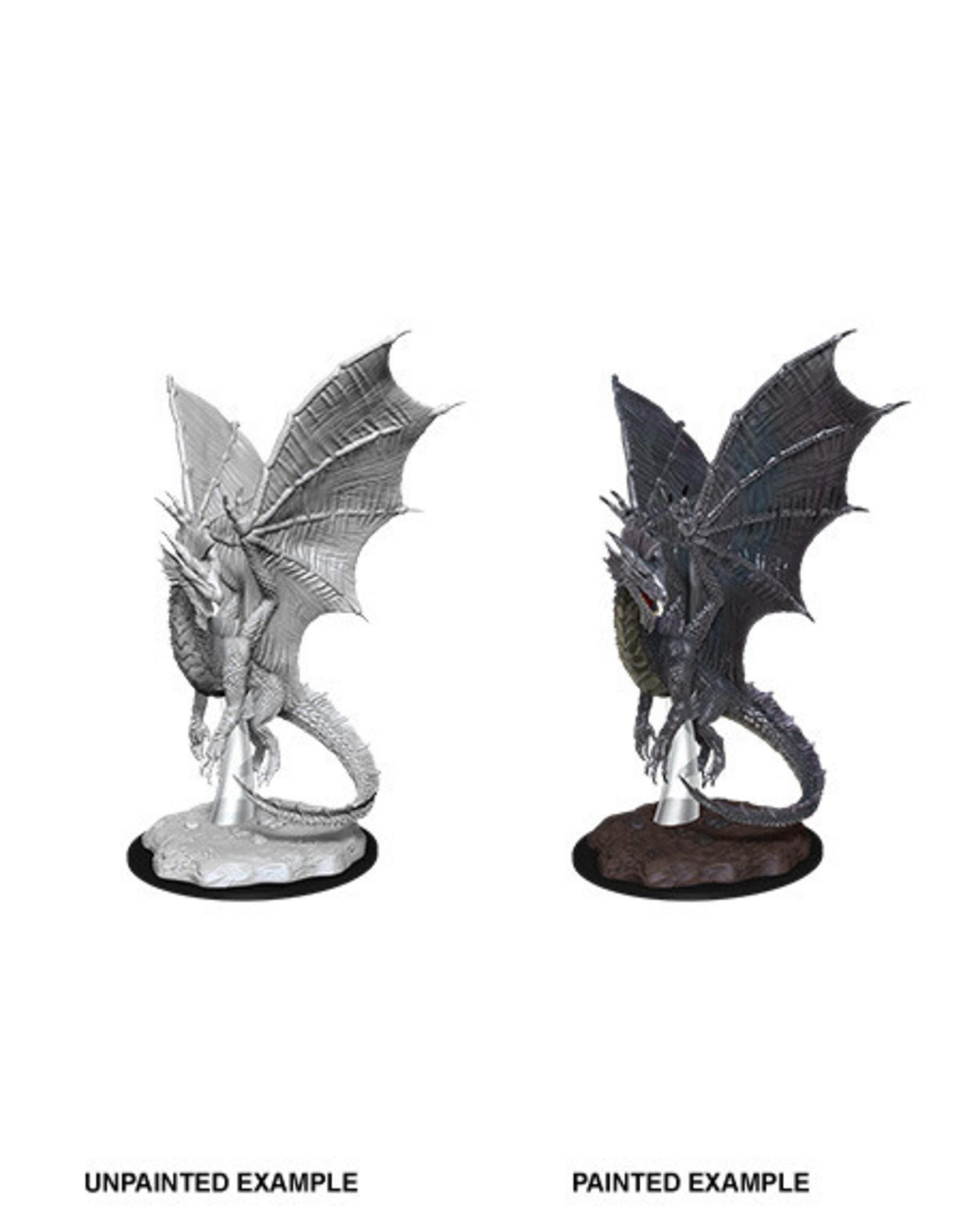 WizKids WZK D&D Minis: W11: Young Silver Dragon