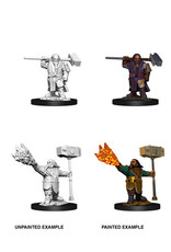WizKids WZK D&D Minis: W11: Male Dwarf Cleric