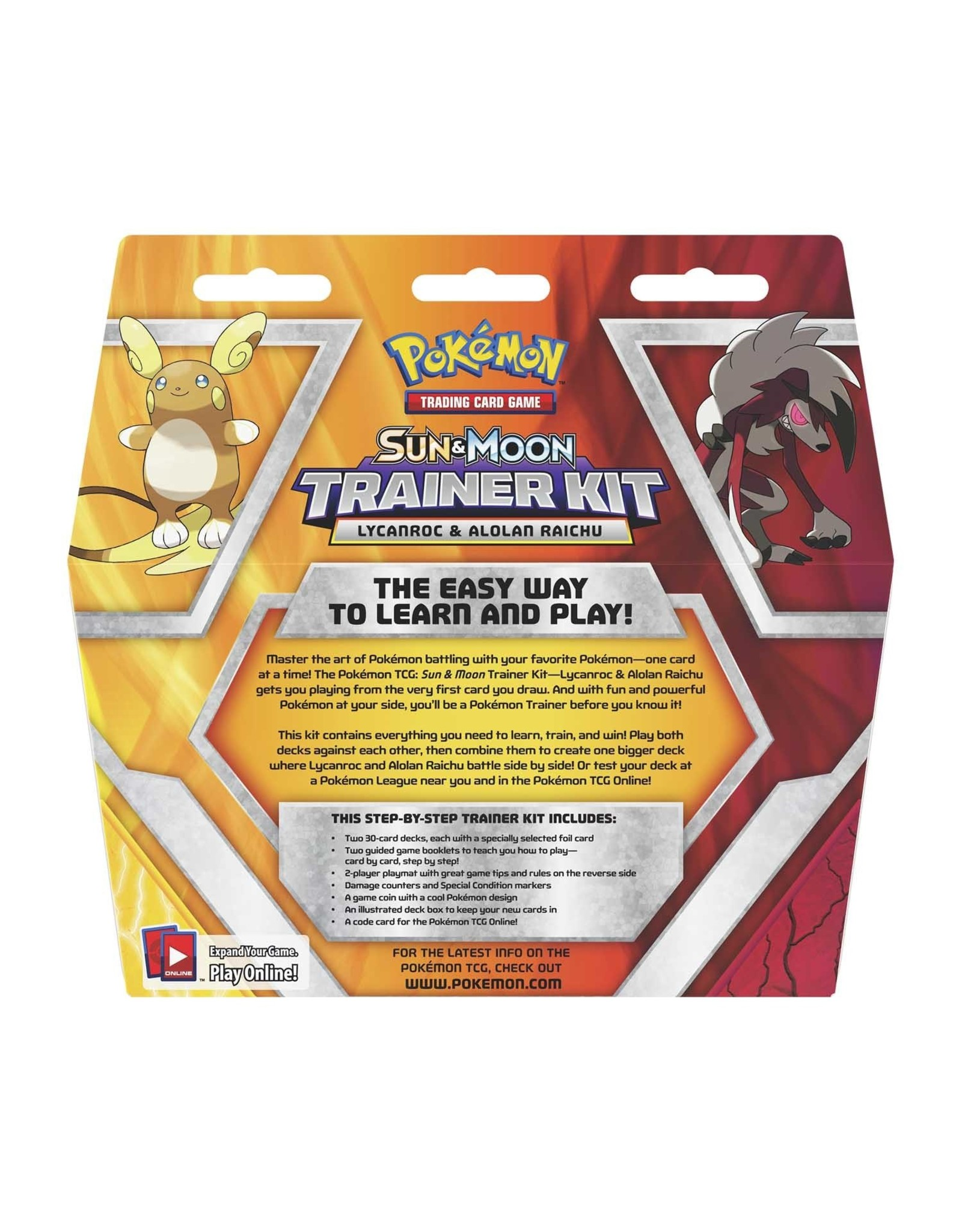 Pokemon Pokemon: Sun & Moon: Trainer Kit - Lycanroc & Alolan Raichu