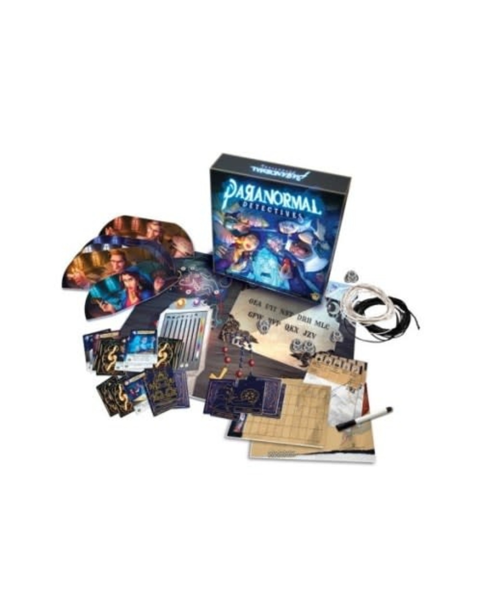 BoardGame: Paranormal Detectives