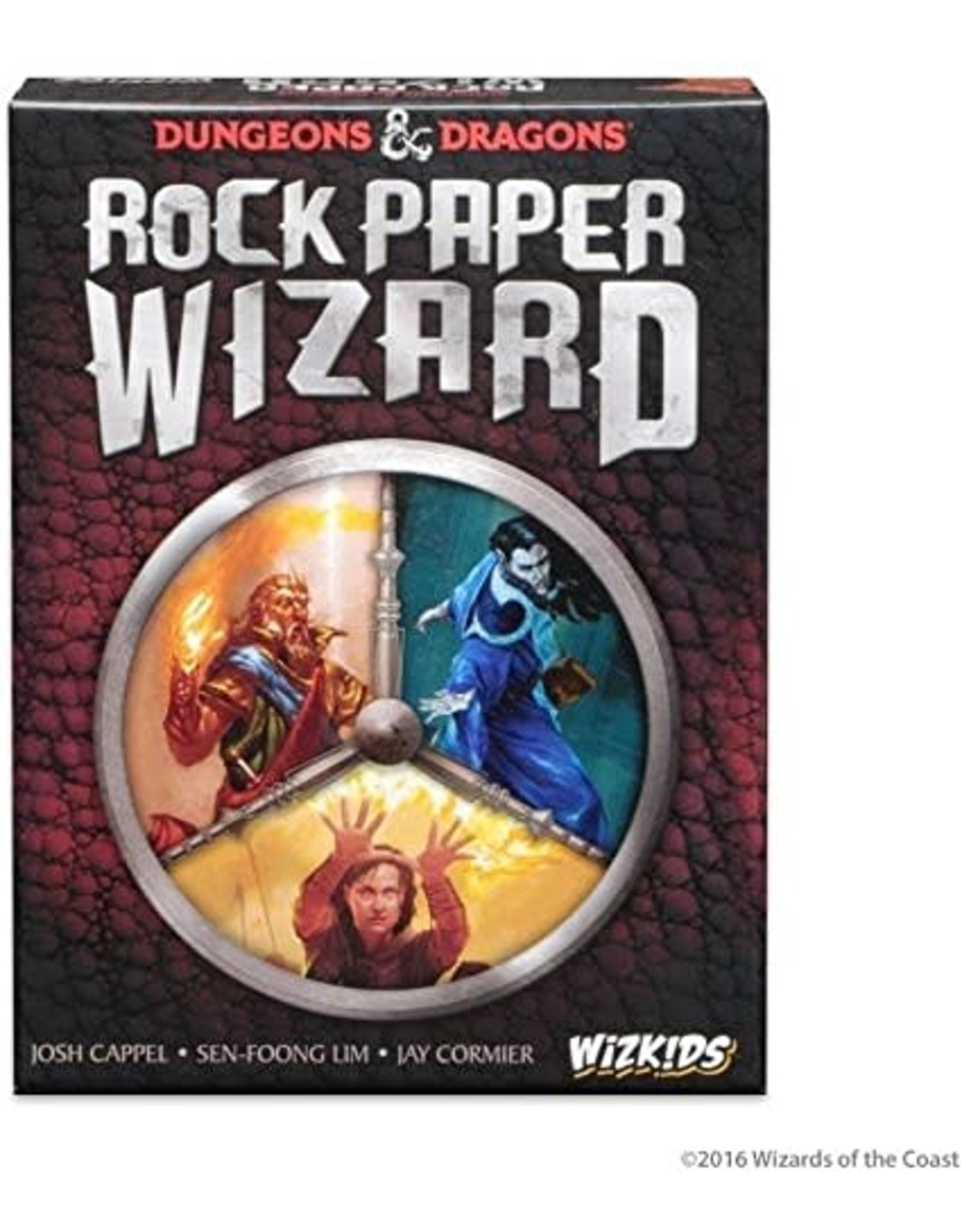 WizKids Dungeons & Dragons: Rock, Paper, Wizard