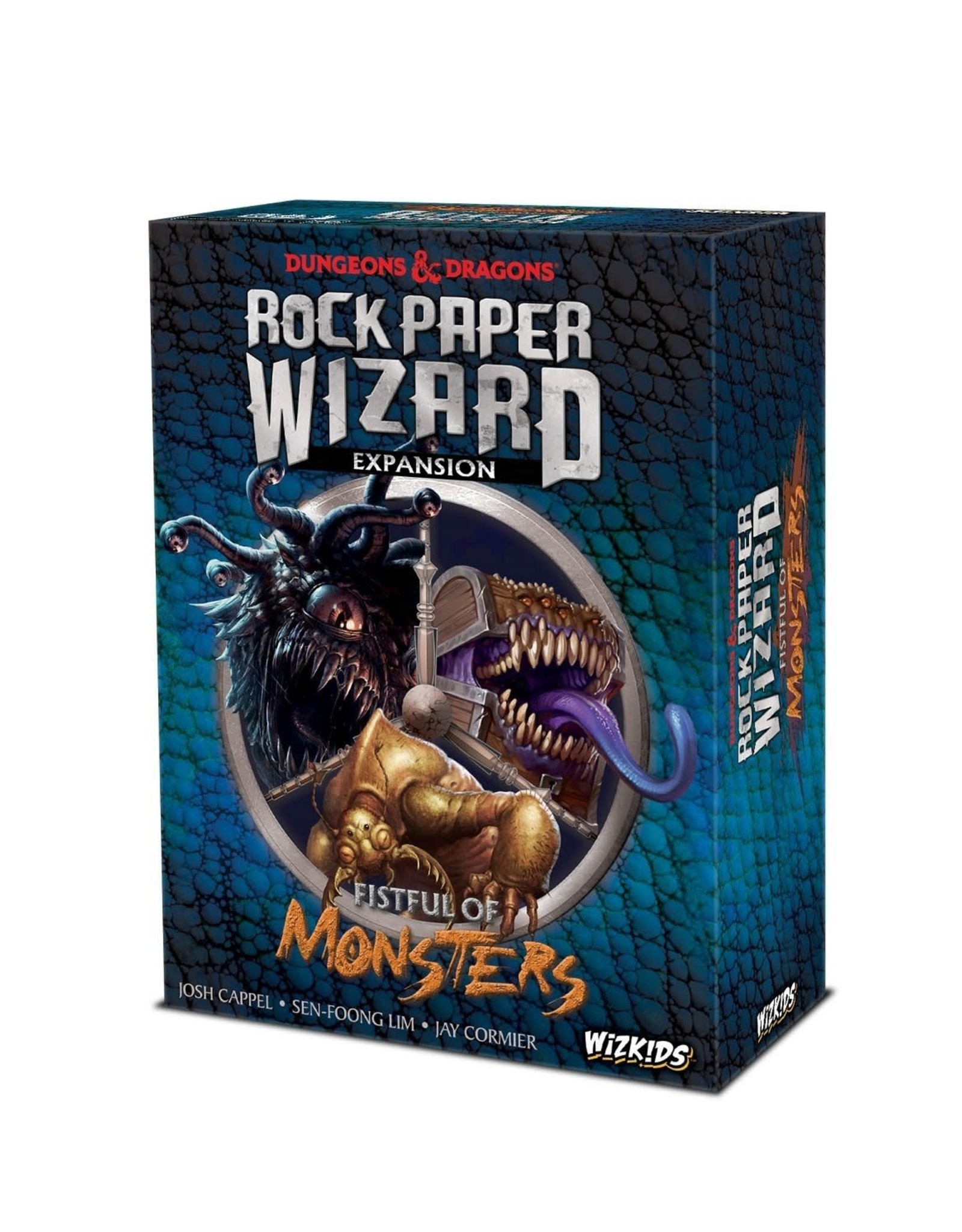 WizKids Dungeons & Dragons: Rock, Paper, Wizard - Fistful of Monsters