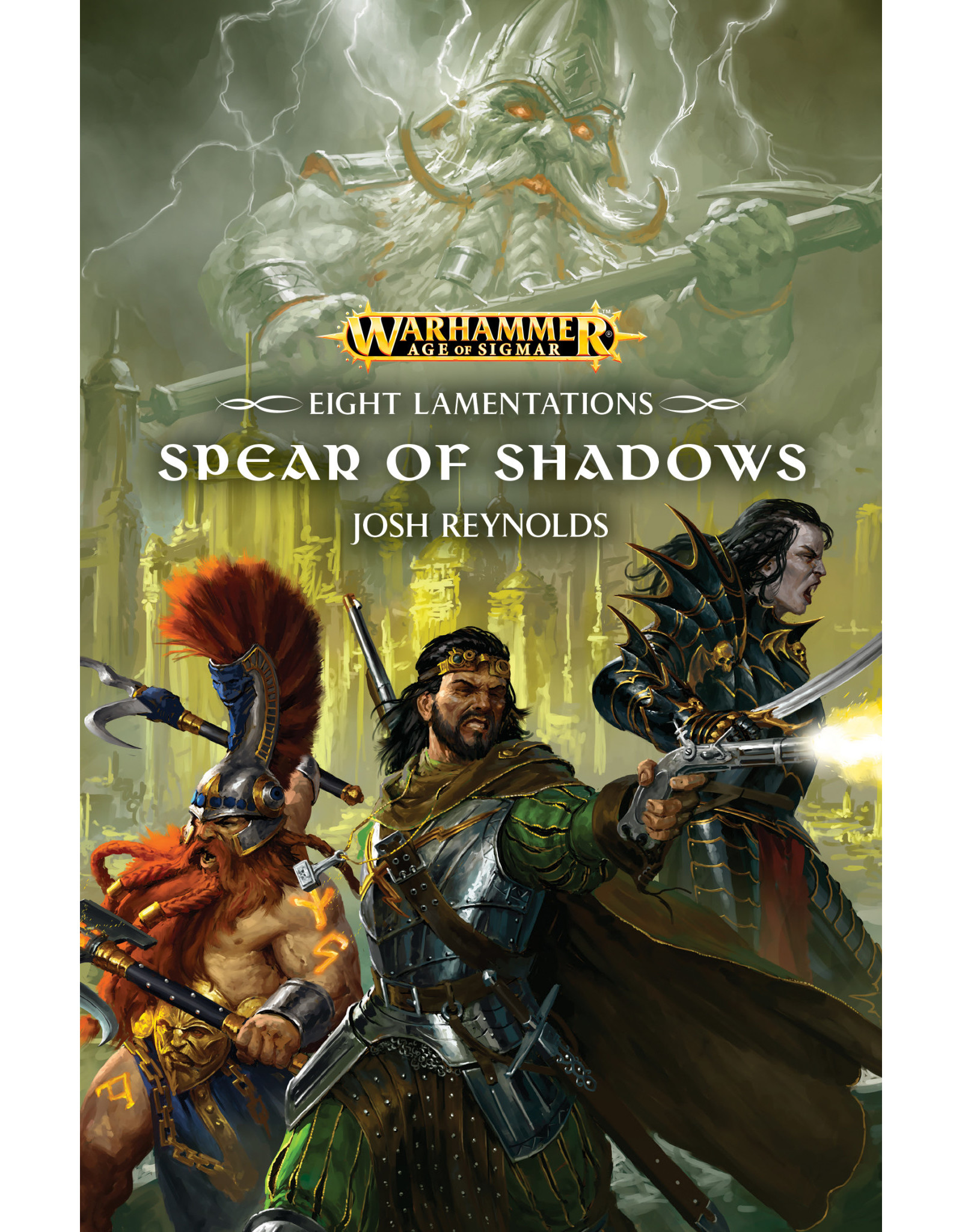 GW: Black Library BL: AoS: Eight Lamentations: Spear of Shadows