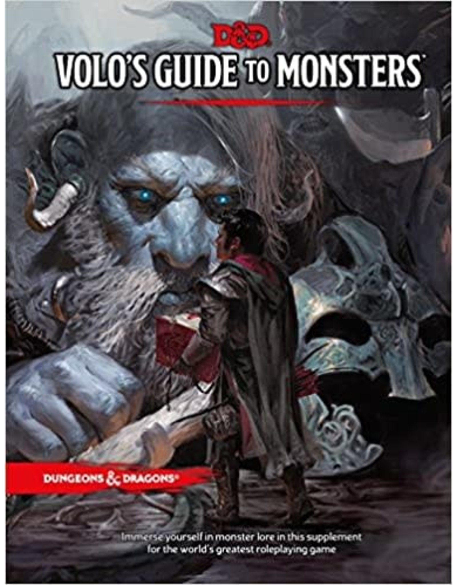 Dungeons & Dragons D&D 5th: Volo's Guide to Monsters (HC)