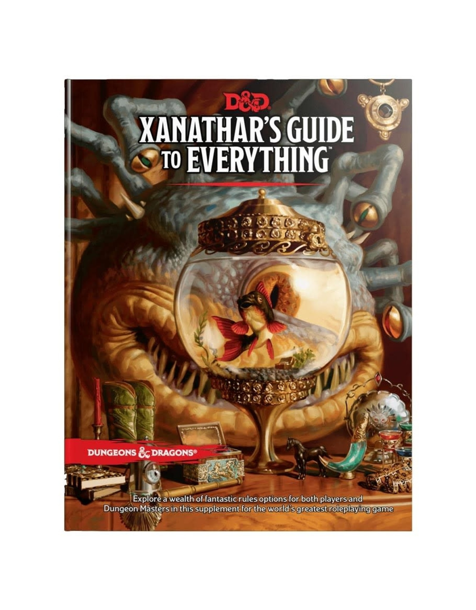 Dungeons & Dragons D&D 5th: Xanathars Guide to Everything