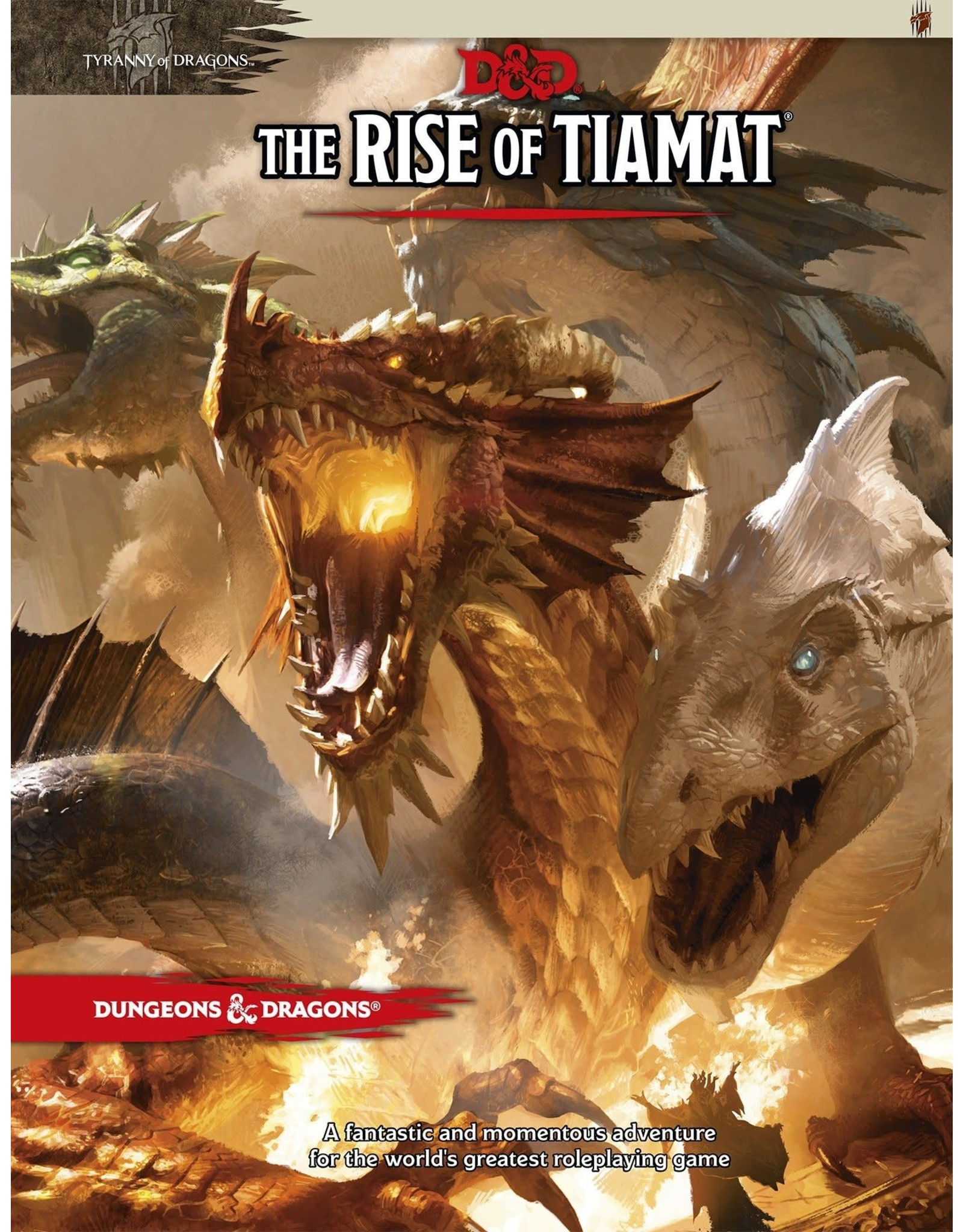 Dungeons & Dragons D&D 5th: The Rise of Tiamat