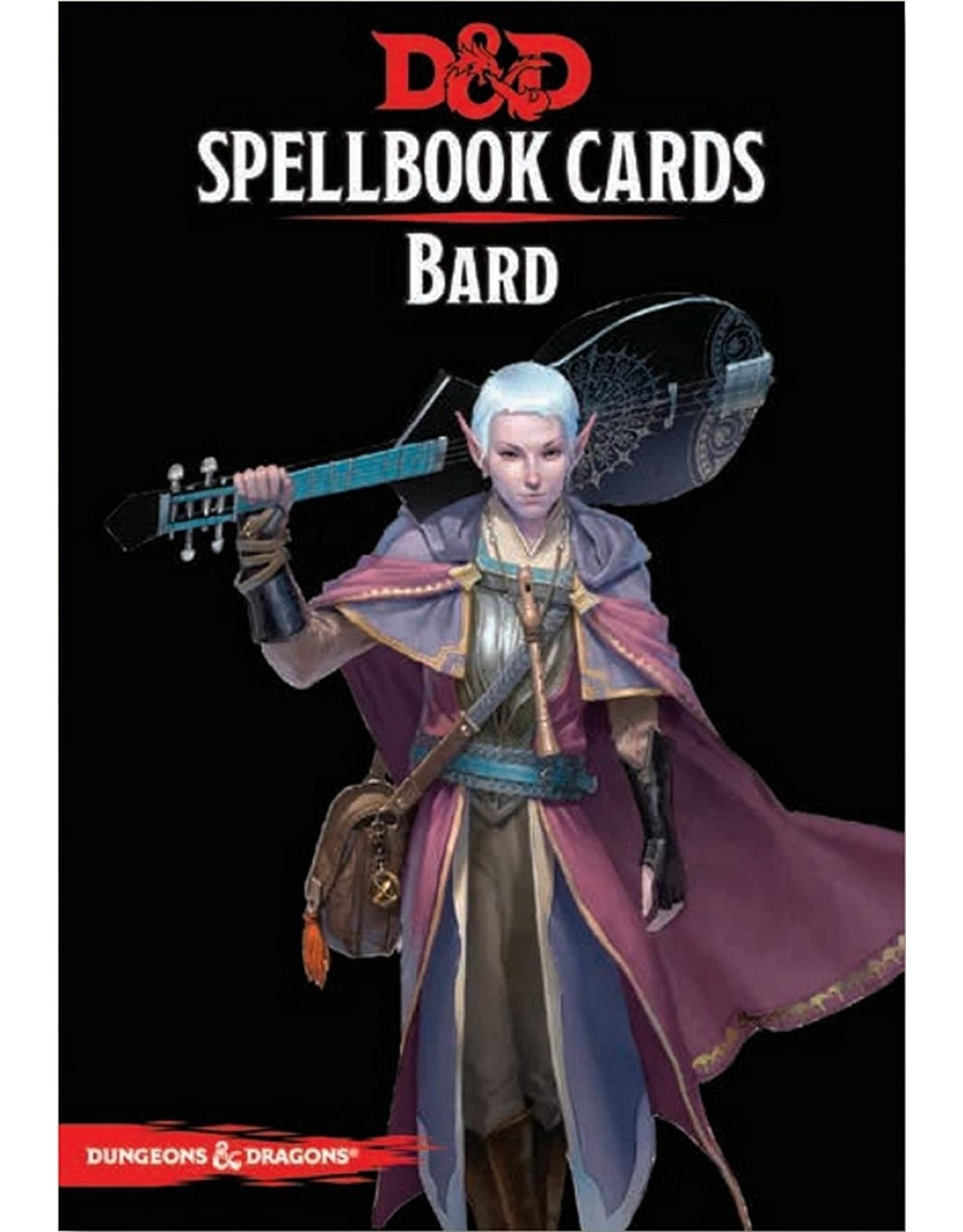 GaleForce9 D&D: Spellbook Cards: Bard Deck