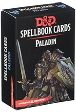 GaleForce9 D&D: Spellbook Cards: Paladin Deck