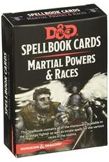 GaleForce9 D&D: Spellbook Cards: Martial & Race Deck