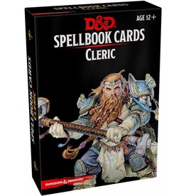 GaleForce9 D&D: Spellbook Cards: Cleric Deck