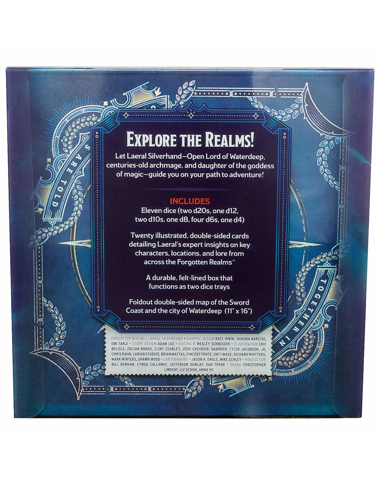 Wizards of the Coast D&D 5th Ed: Forgoten Realms - Laeral Silverhand's Explorer's Kit