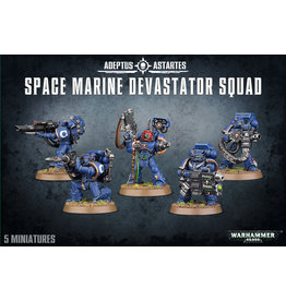 GW: Games Workshop GW: 40K: Space Marine Devastator Squad