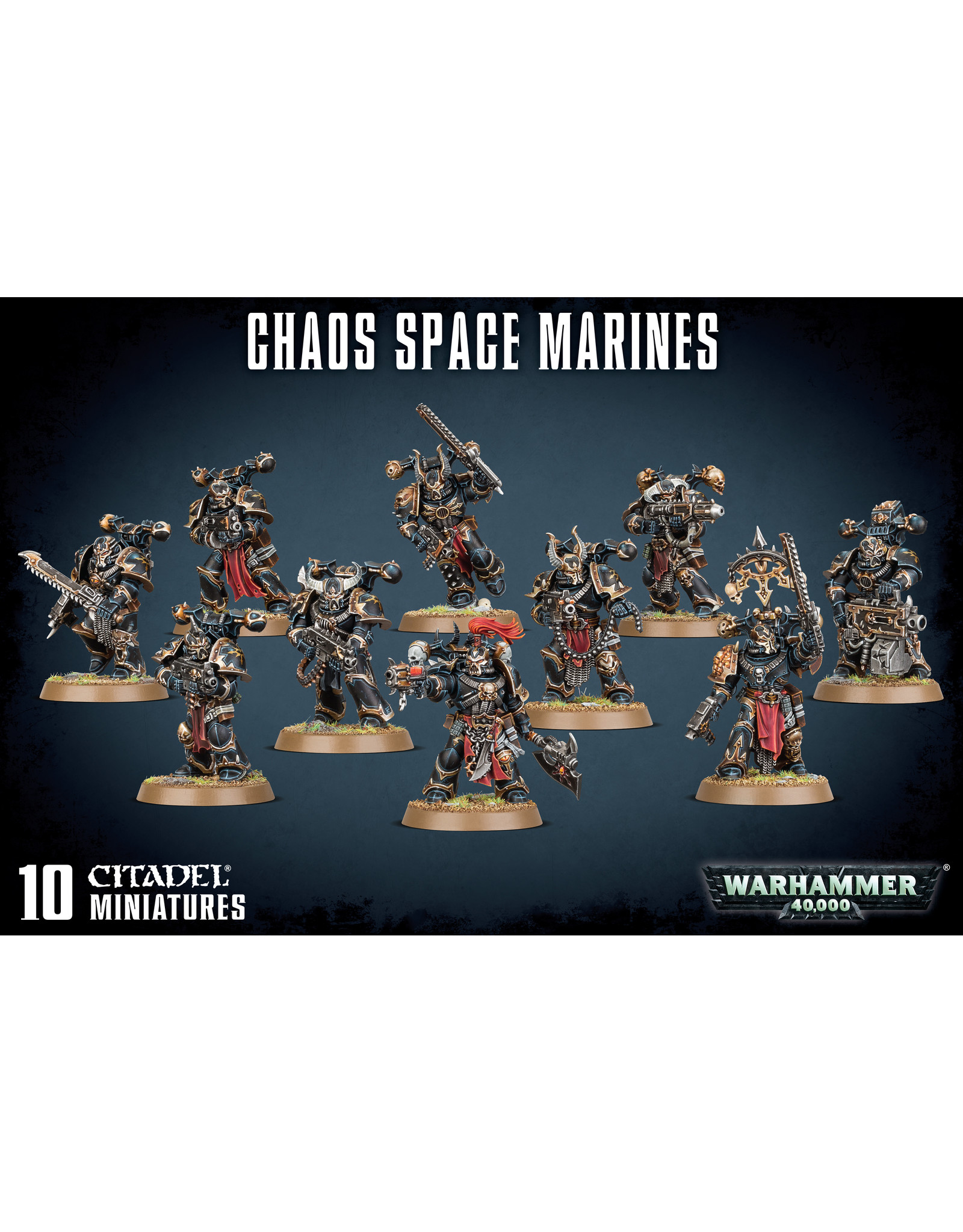 GW: Games Workshop GW: 40K: Chaos Space Marine Squad