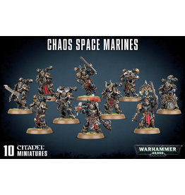 GW: Games Workshop GW: Chaos Space Marine Squad