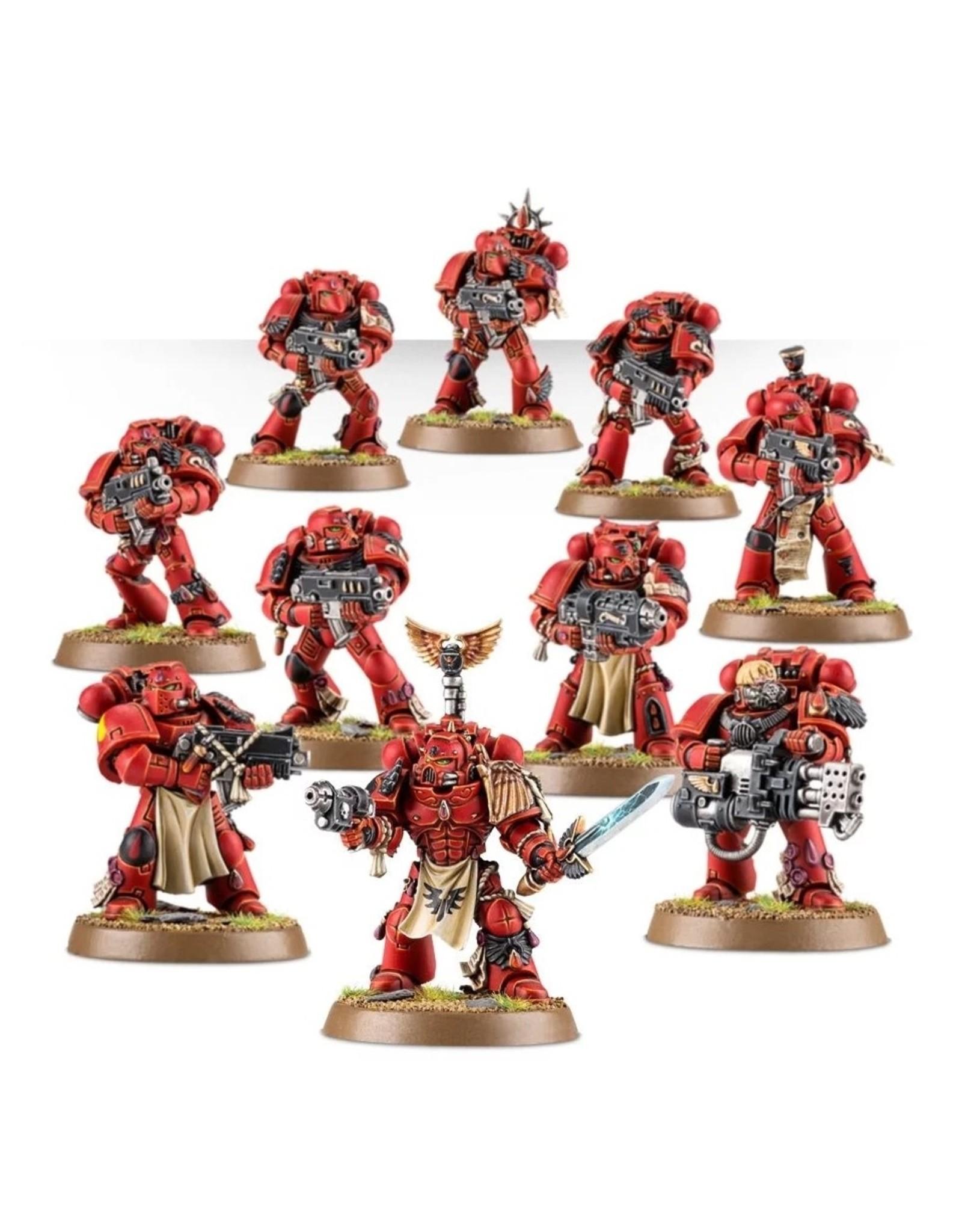 GW: Games Workshop GW: 40K: Blood Angels Tactical Squad