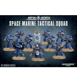 GW: Games Workshop GW: 40K: Space Marine Tactical Squad