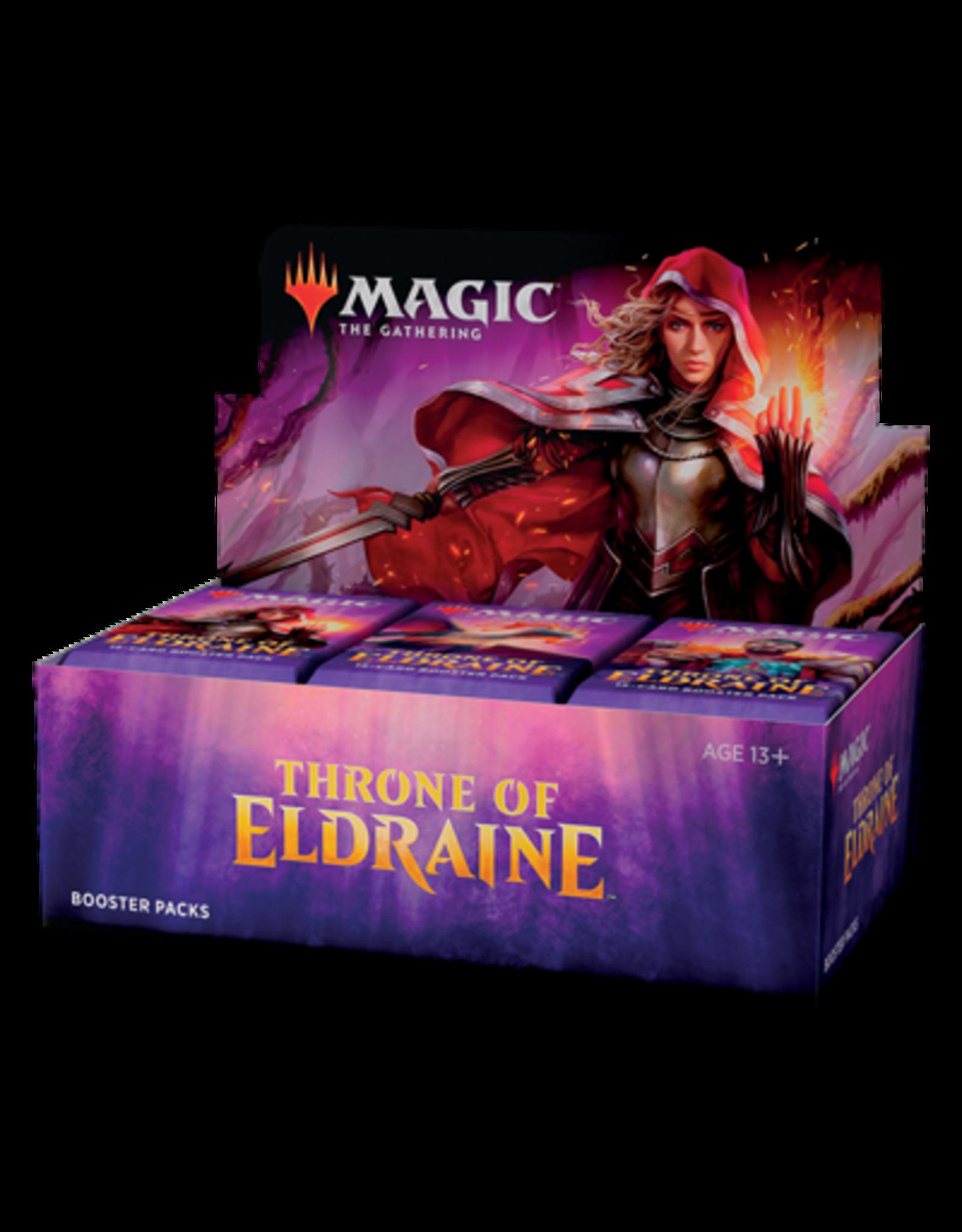 Wizards of the Coast MtG: Thrones of Eldraine Booster Display