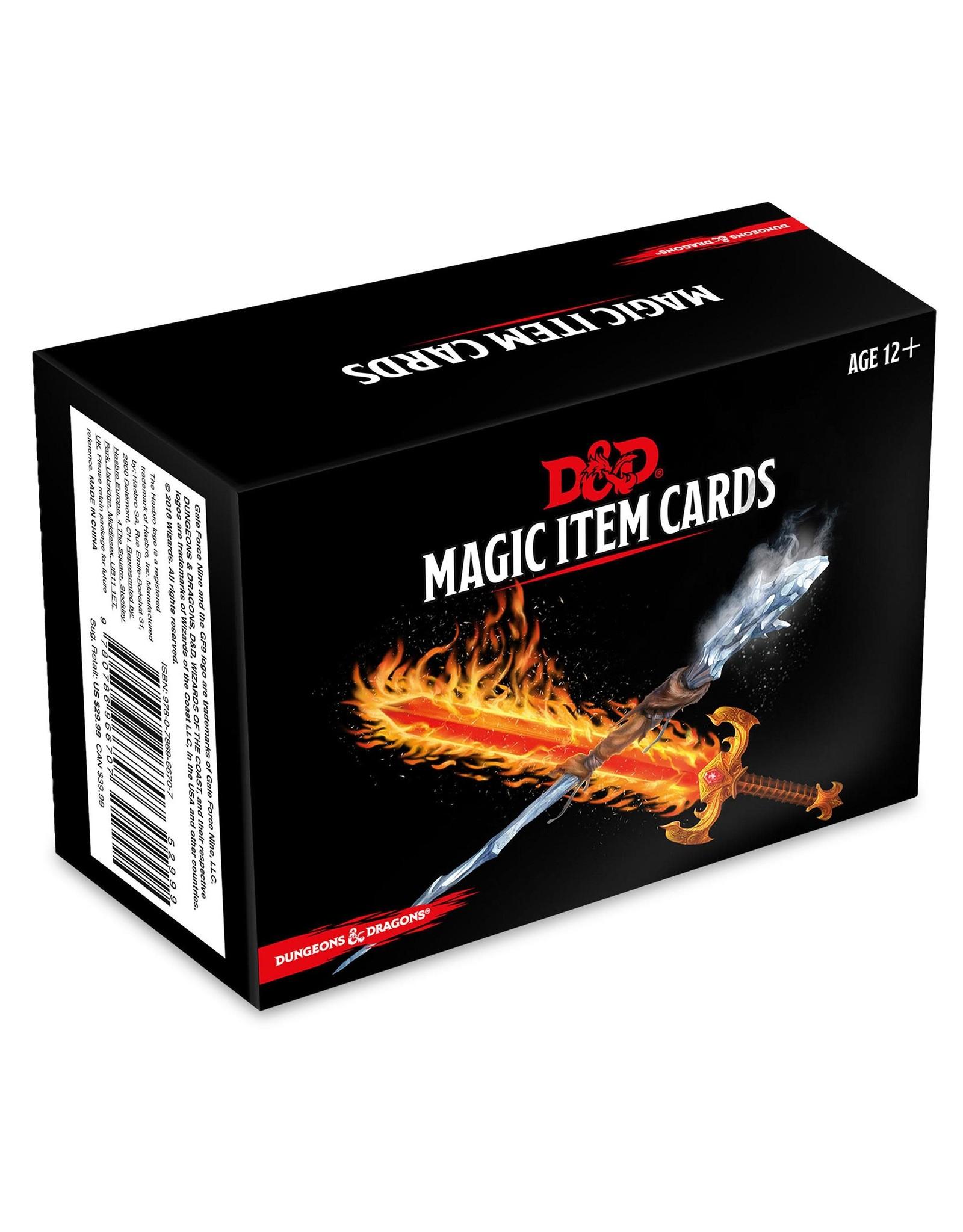 GaleForce9 D&D: Magic Item Cards
